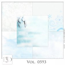 Vol. 0593 Winter Papers by D's Design
