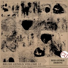 Brush Genius Volume Twelve by Mad Genius Designs