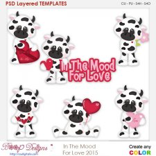 In The MOOd For Love Layered Element Templates