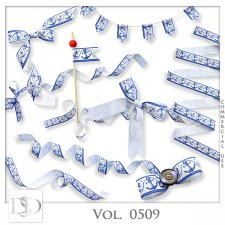 Vol. 0509 Marine Ribbons Mix by D's Design