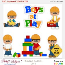 Building Buddies Layered Element Templates