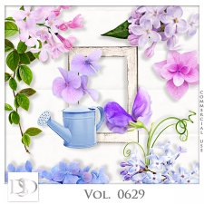 Vol. 0629 Nature Floral Mix by D's Design