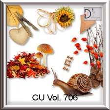 Vol. 706 Autumn Mix by Doudou Design
