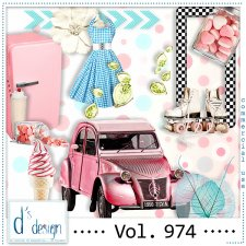 Vol. 974 Fifties Mix by Doudou Design