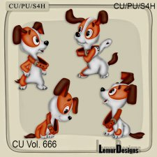 CU Vol 666 Dog by Lemur Designs