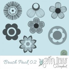 Flower Brush Pack 02 Pathy Design