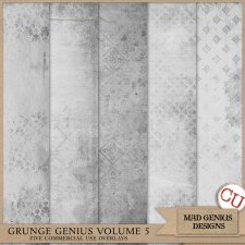 Grunge Genius Volume Five by Mad Genius Designs