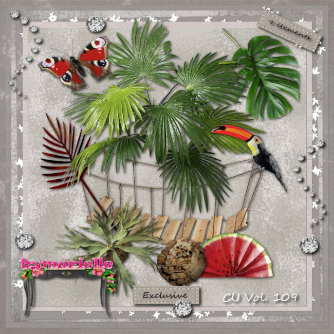 Vol 109 Tropical Elements EXCLUSIVE bymurielle