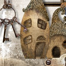Vol. 896 Steampunk Mix by Doudou Design