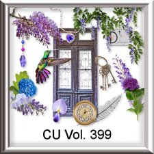 Vol. 399 Vintage Wisteria Mix by Doudou Design