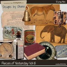 Vintage Pieces of Yesterday Vol 6 - EXCLUSIVE Designs by Ohana