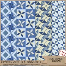 Pattern Genius Paper Volume Three by Mad Genius Designs