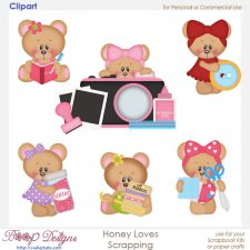 Honey Loves Scrapbooking - ClipArt