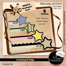 Scalloped Edges PS ACTION by Boop Designs
