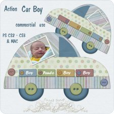 Action - Car Boy by Rose.li