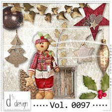 Vol. 0097 Christmas Mix by Doudou Design