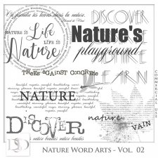 Nature Word Arts Vol 02 by D's Design