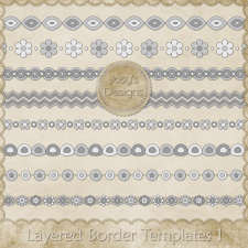 Layered Border Layered Templates 1 by Josy