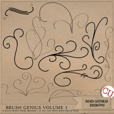 Brush Genius Volume Five by Mad Genius Designs