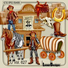CU Vol 627 Wild wild West by Lemur Designs