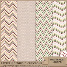 Pattern Genius Paper Volume Two by Mad Genius Designs