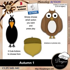 Autumn I ACTIONS by Boop Designs