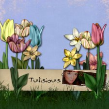 Tulisious - action by Monica Larsen
