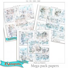 Mega pack papers by kastagnette