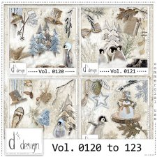 Vol 0120 to 0123 Winter Mix by Doudou Design