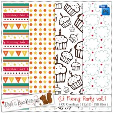 Funny Party vol 1 Pattern Layered Template by Peek a Boo Designs