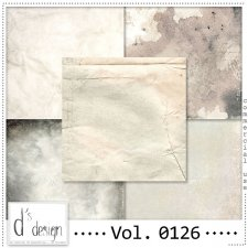 Vol. 0126 Vintage papers by Doudou Design