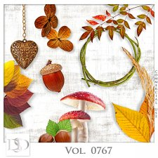 Vol. 0767 Autumn Nature Mix by D's Design