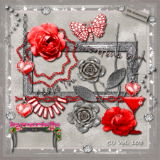 Vol 103 Valentine Day Elements EXCLUSIVE bymurielle