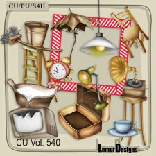 CU Vol 540 Household Stuff by Lemur Designs
