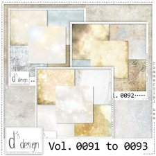 Vol 0091 to 0093 Winter Papers BUNDLE by Doudou Design