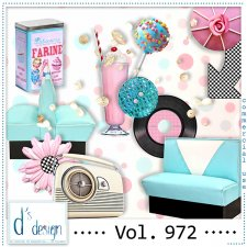 Vol. 972 Fifties Mix by Doudou Design