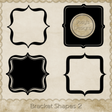 Bracket Shapes 2 by Josy