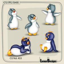 CU Vol 433 Animals by Lemur Designs