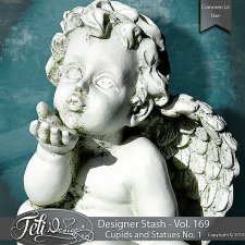 Designer Stash Vol 169 - Cupids and Statues - by Feli Designs