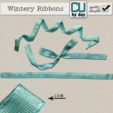 Wintery Ribbon - CUbyDay EXCLUSIVE