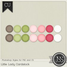 Little Lady Cardstock PS Styles by Just So Scrappy