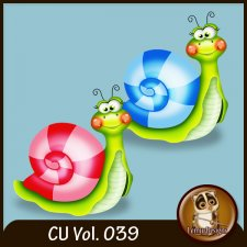 CU Vol 039 Snails by Lemur Designs