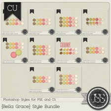 Bella Grace PS Styles Collection by Just So Scrappy