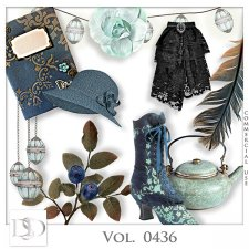 Vol. 0436 Vintage Mix by D's Design