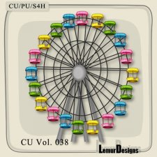 CU Vol 038 Ferris Wheel by Lemur Designs