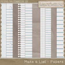 Make a List Vol 1 Papers