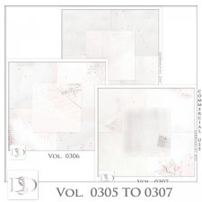 Vol 0305 to 0307 Christmas Papers by Doudou Design