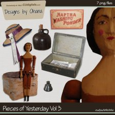 Vintage Pieces of Yesterday Vol 3 - EXCLUSIVE Designs by Ohana