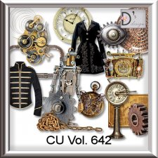 Vol. 642 Steampunk Mix by Doudou Design