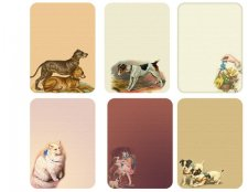 Vintage Pets Tags-Cards by Mandog Scraps